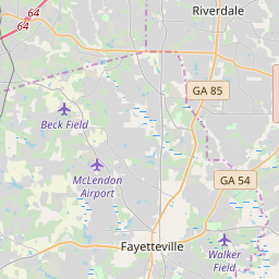 Clayton County, Georgia Hardiness Zones on