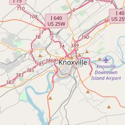 Knox County Tennessee Map.Knox County Tennessee Hardiness Zones