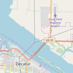 Decatur, Alabama Hardiness Zones