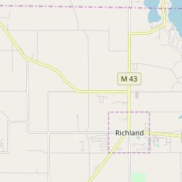 Zipcode 49083 Richland Michigan Hardiness Zones