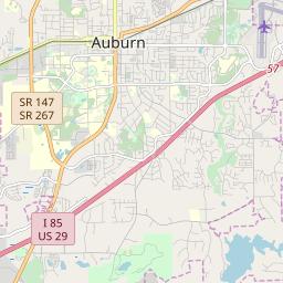 Auburn, Alabama Hardiness Zones