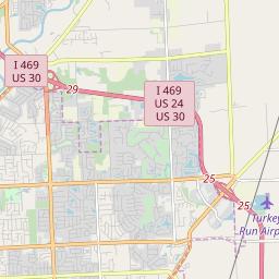Zipcode 46774 New Haven Indiana Hardiness Zones