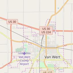 Zipcode 45891 Van Wert Ohio Hardiness Zones