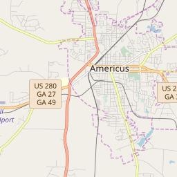 Zipcode 31719 Americus Georgia Hardiness Zones