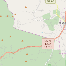 Map Of Young Harris Georgia.Zipcode 30582 Young Harris Georgia Hardiness Zones