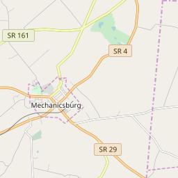 Mechanicsburg Ohio Map.Mechanicsburg Ohio Hardiness Zones