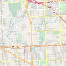 48223 Zip Code Map.Zipcode 48223 Detroit Michigan Hardiness Zones