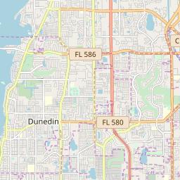 Safety Harbor Florida Map.Safety Harbor Florida Hardiness Zones