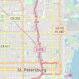 Saint Petersburg Zip Code Map.Zipcode 33710 Saint Petersburg Florida Hardiness Zones