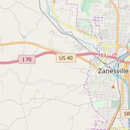 Zanesville, Ohio Hardiness Zones on