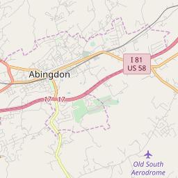 Abingdon Virginia Map.Abingdon Virginia Hardiness Zones