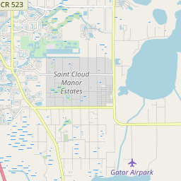 St Cloud Florida Map.St Cloud Florida Hardiness Zones