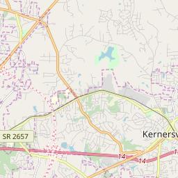 Kernersville Nc Zip Code Map.Zipcode 27284 Kernersville North Carolina Hardiness Zones