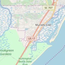 Pawleys Island Zip Code Map.Zipcode 29585 Pawleys Island South Carolina Hardiness Zones