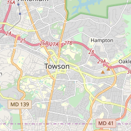 Zipcode 21286 Towson Maryland Hardiness Zones