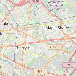 Cherry Hill Nj Zip Code Map.Zipcode 08034 Cherry Hill New Jersey Hardiness Zones