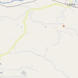 Lyons Oregon Map.Lyons Oregon Hardiness Zones