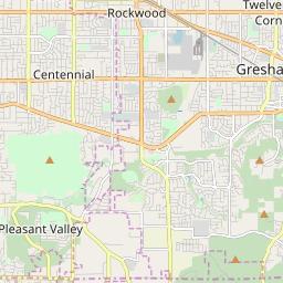 Gresham Oregon Zip Code Map.Zipcode 97080 Gresham Oregon Hardiness Zones