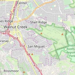 Zipcode 94598 Walnut Creek California Hardiness Zones