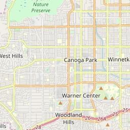 Zipcode 91311 - Chatsworth, California Hardiness Zones on