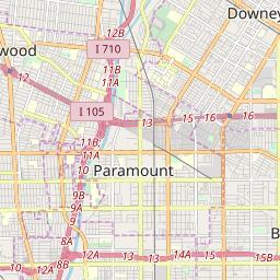 Zip Code Map For Downey Ca.Zipcode 90242 Downey California Hardiness Zones