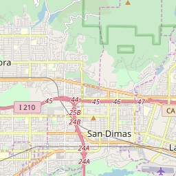 Azusa, California Hardiness Zones on