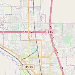 Pocatello Zip Code Map.Zipcode 83201 Pocatello Idaho Hardiness Zones