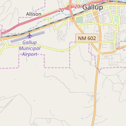 Gallup, New Mexico Hardiness Zones on