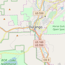 Durango, Colorado Hardiness Zones on