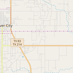 Denver City, Texas Hardiness Zones on