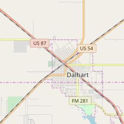 Dalhart, Texas Hardiness Zones on