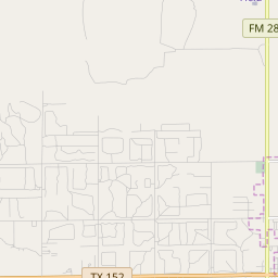 Pampa, Texas Hardiness Zones on