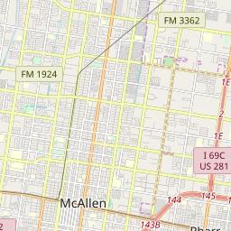 Zipcode 78503 Mcallen Texas Hardiness Zones