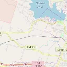 Zipcode 76513 - Belton, Texas Hardiness Zones