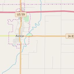 Avoca Iowa Map.Avoca Iowa Hardiness Zones