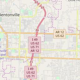 Zipcode 72758 - Rogers, Arkansas Hardiness Zones