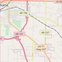 Texarkana, Arkansas Hardiness Zones