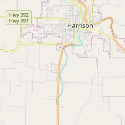 Zipcode 72601 - Harrison, Arkansas Hardiness Zones