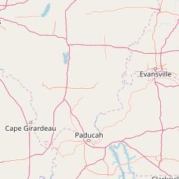 Kentucky Interactive USDA Plant Hardiness Zone Map on