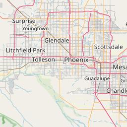 Map Of Scottsdale Arizona Zip Codes.Area Code 480 Info And Interactive Map