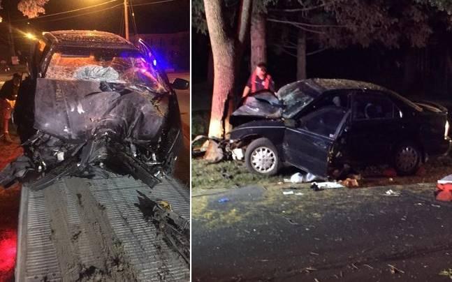 Pokemon Go Player Crashes His Car into a Tree