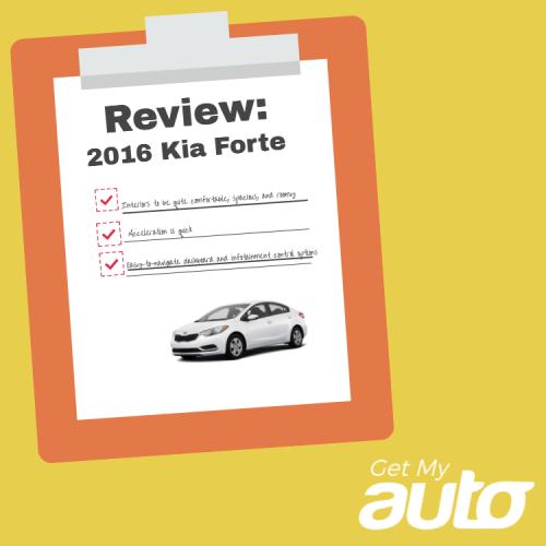 Review: 2016 Kia Forte