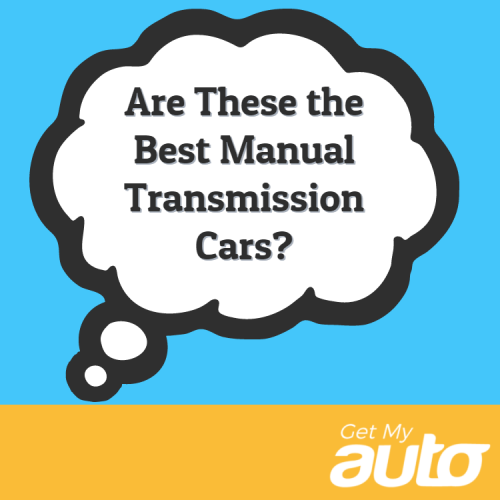 Are These the Best Manual Transmission Cars?
