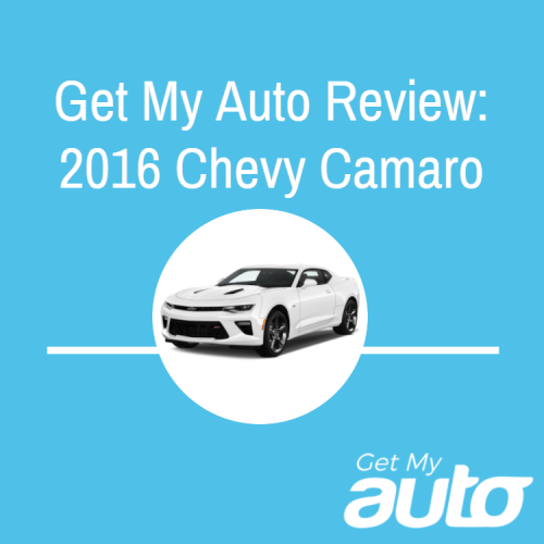 Get My Auto Review: 2016 Chevy Camaro