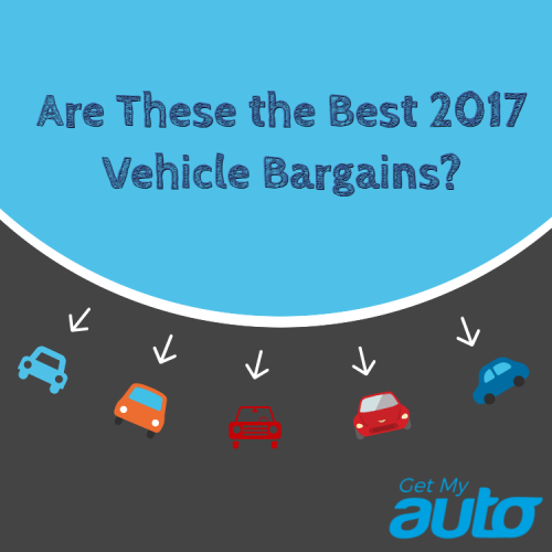 Are These the Best 2017 Vehicle Bargains?