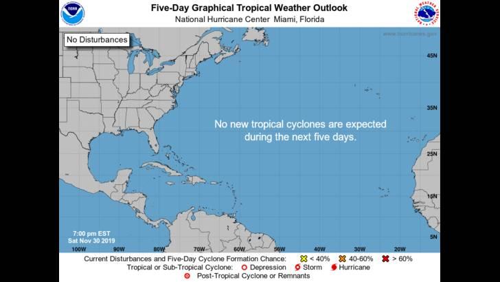 Tropics Watch Potential