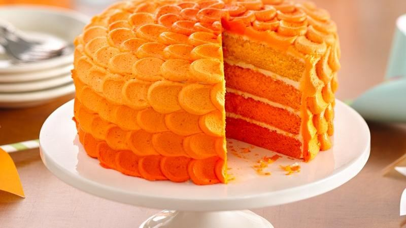 Different Coloured Layered Cake Recipes