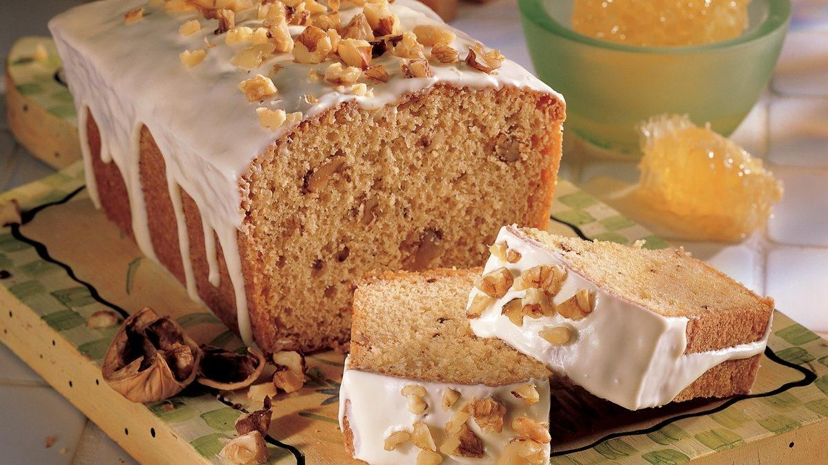 Honey Walnut Pound Cakes