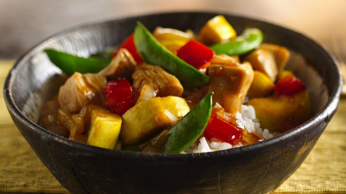 Summer Chicken Stir Fry