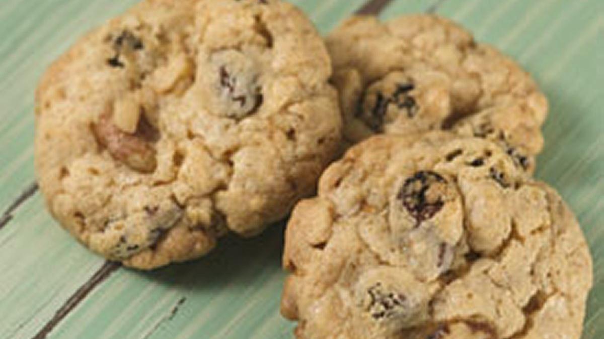 Biscuits à l'avoine et aux raisins secs tout simples